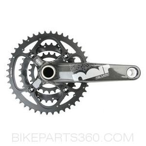 Truvativ Noir 33 Team Carbon GXP Crankset no BB