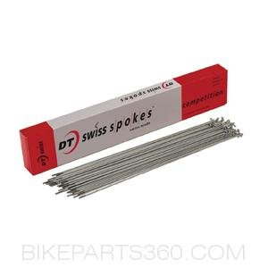 DTSwiss Competition 141514g silver Spoke